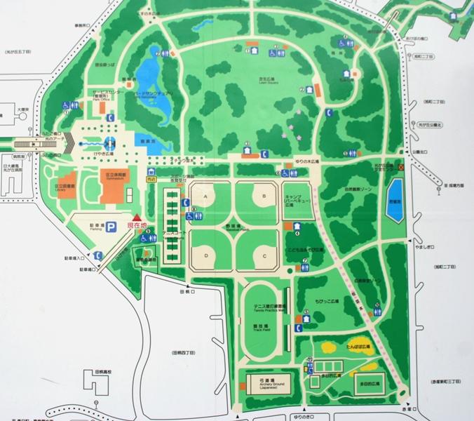 光が丘公園マップ