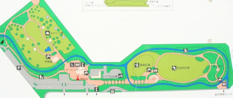 若洲公園マップ