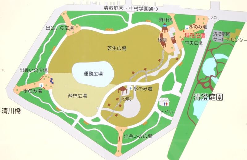 清澄公園マップ