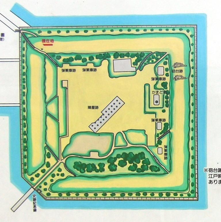 台場公園マップ