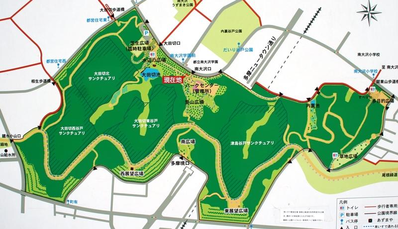 小山内裏公園マップ
