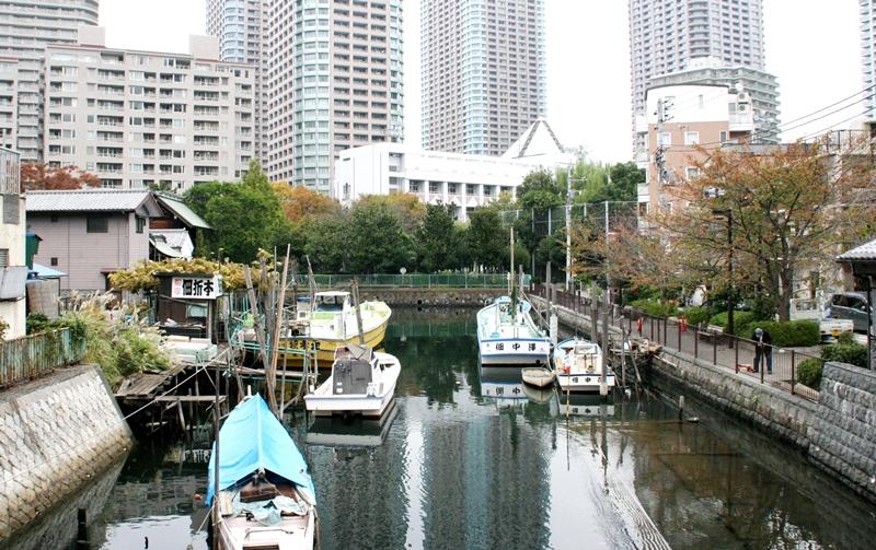佃島の漁村