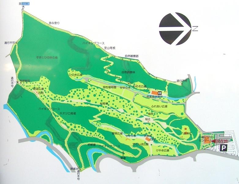 小峰公園マップ