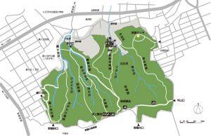 長沼公園マップ