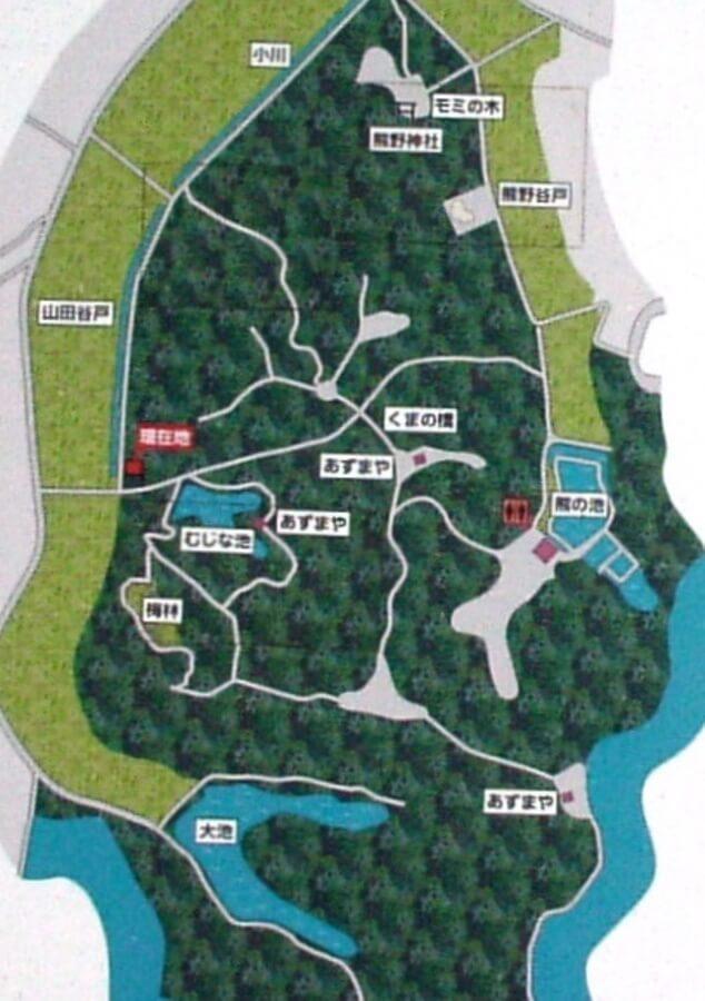 寺家ふるさと村マップ