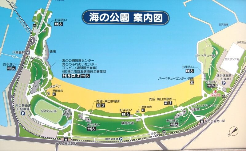 海の公園マップ