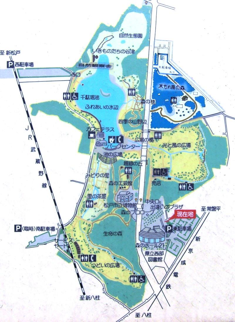 21世紀の森と公園マップ