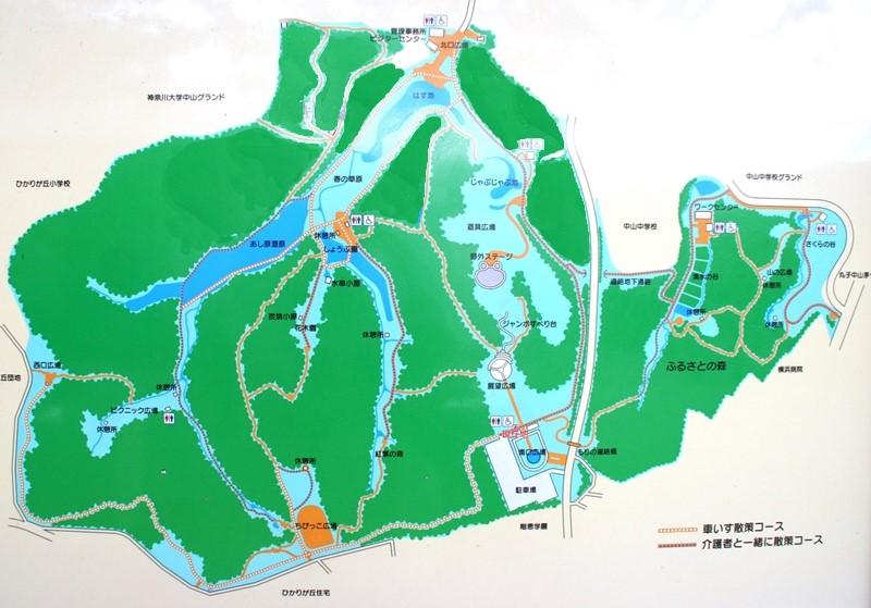 四季の森公園マップ