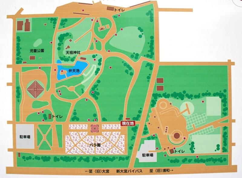 与野公園マップ