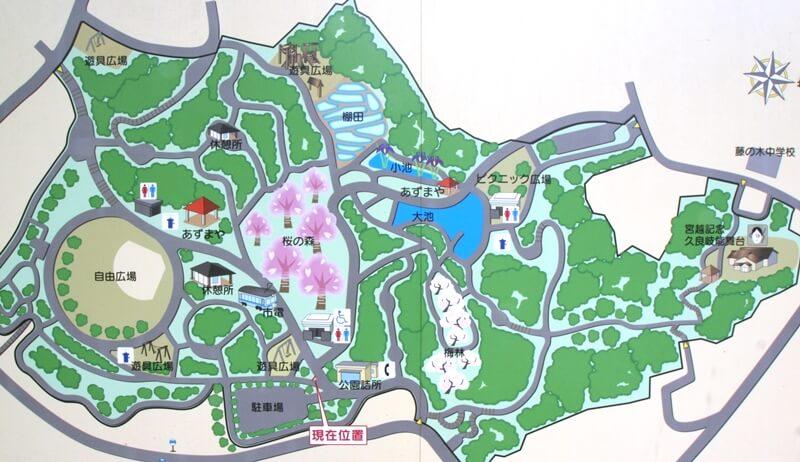 久良岐公園マップ