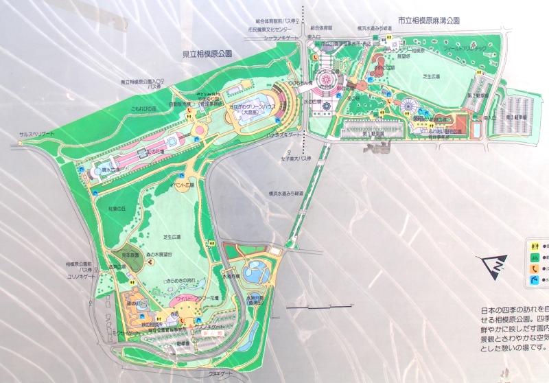 相模原公園マップ