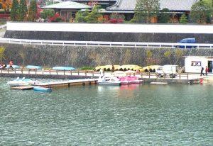 丹沢湖ボート乗り場
