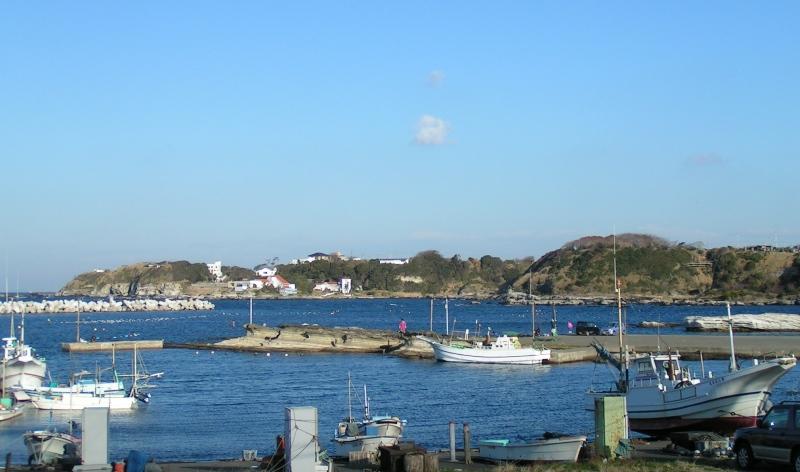 三浦の漁村