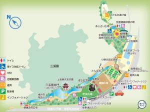 本牧市民・臨海公園マップ