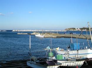 二町谷の漁港