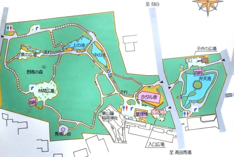 おとめ山公園マップ
