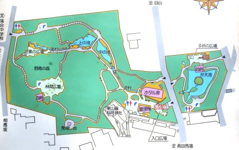 おとめ山公園の地図