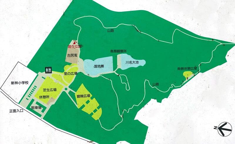 新林公園マップ