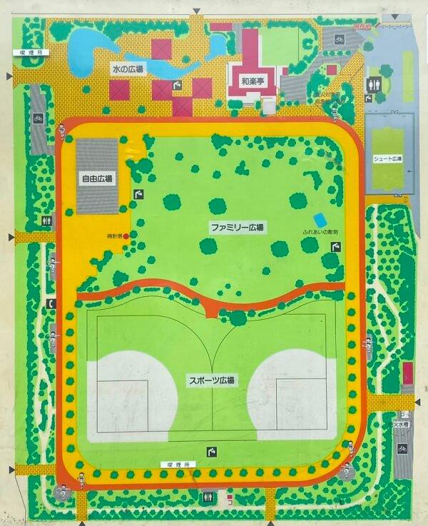 新小岩公園マップ