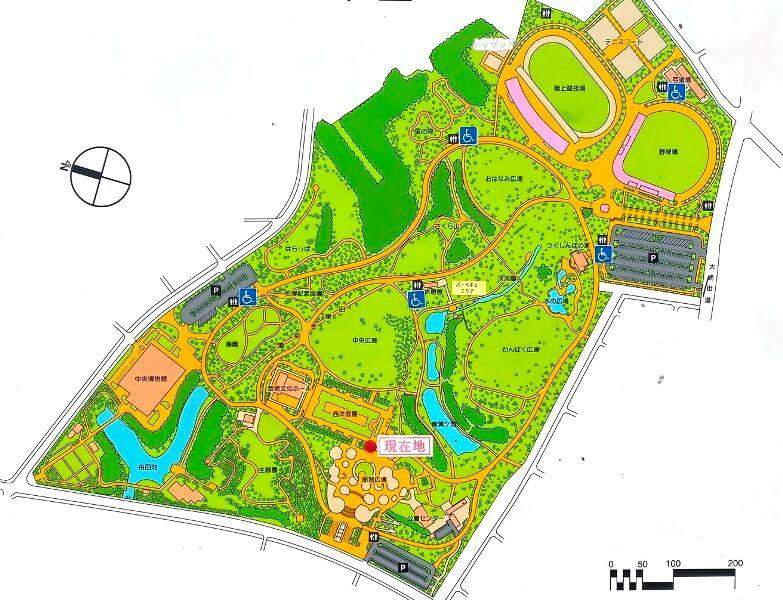 青葉の森公園マップ