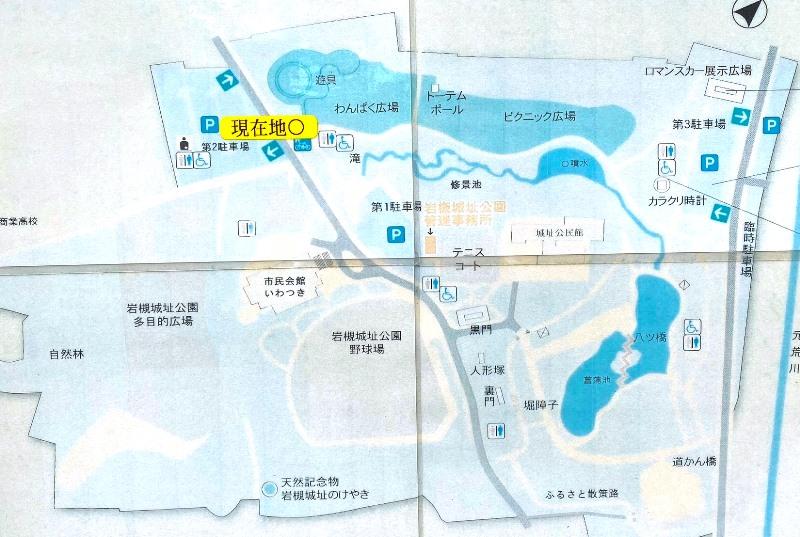 岩槻城址公園マップ