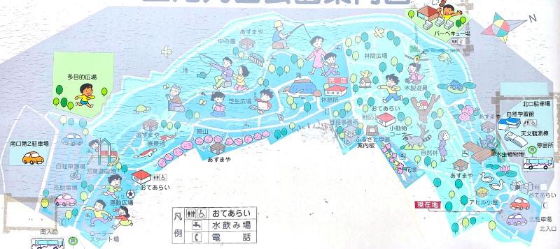 上尾丸山公園マップ