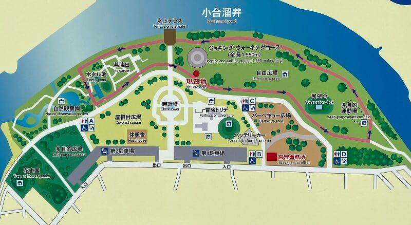 みさと公園マップ