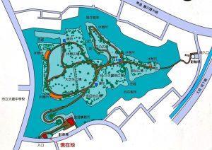 大庭城址公園マップ