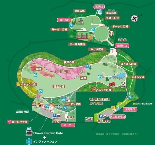根岸森林公園マップ