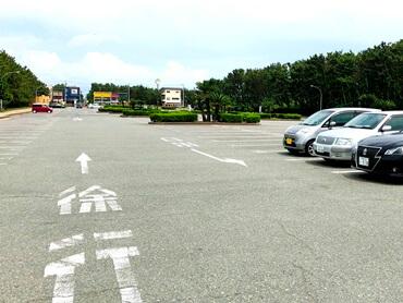 辻堂海浜公園の駐車場