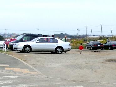 宮川公園の駐車場